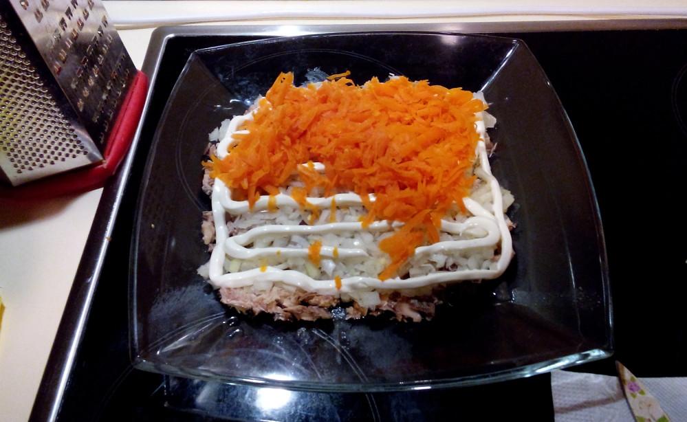 Мимоза рецепт классический пошаговый рецепт с рисом и консервой