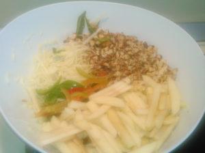 Рецепты салатов из свежей капусты белокочанной с яблоками