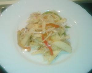 Капустный салат рецепт классический рецепт с яблоком