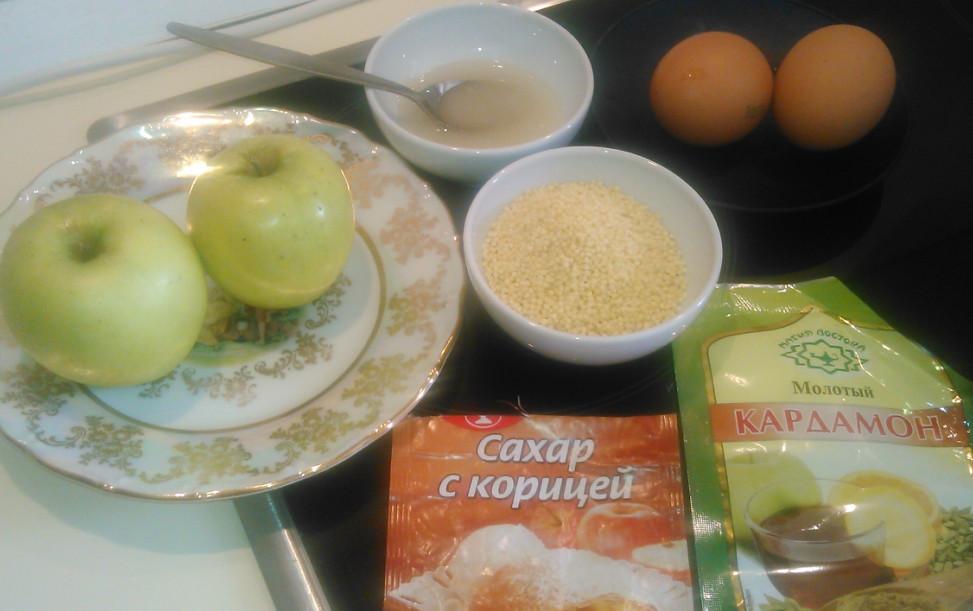 Сладкий омлет рецепт на сковороде с яблоками