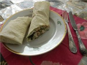 Шаурма по домашнему с курицей пошаговый рецепт приготовления
