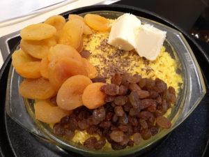 Как приготовить желтый рис с помощью куркумы