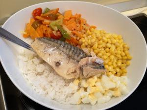 Салат с рыбной консервой рецепт с рисом