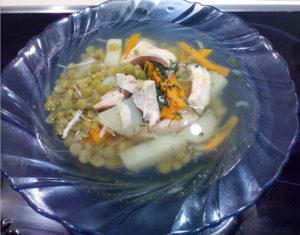 Суп гороховый рецепт с курицей пошаговый рецепт