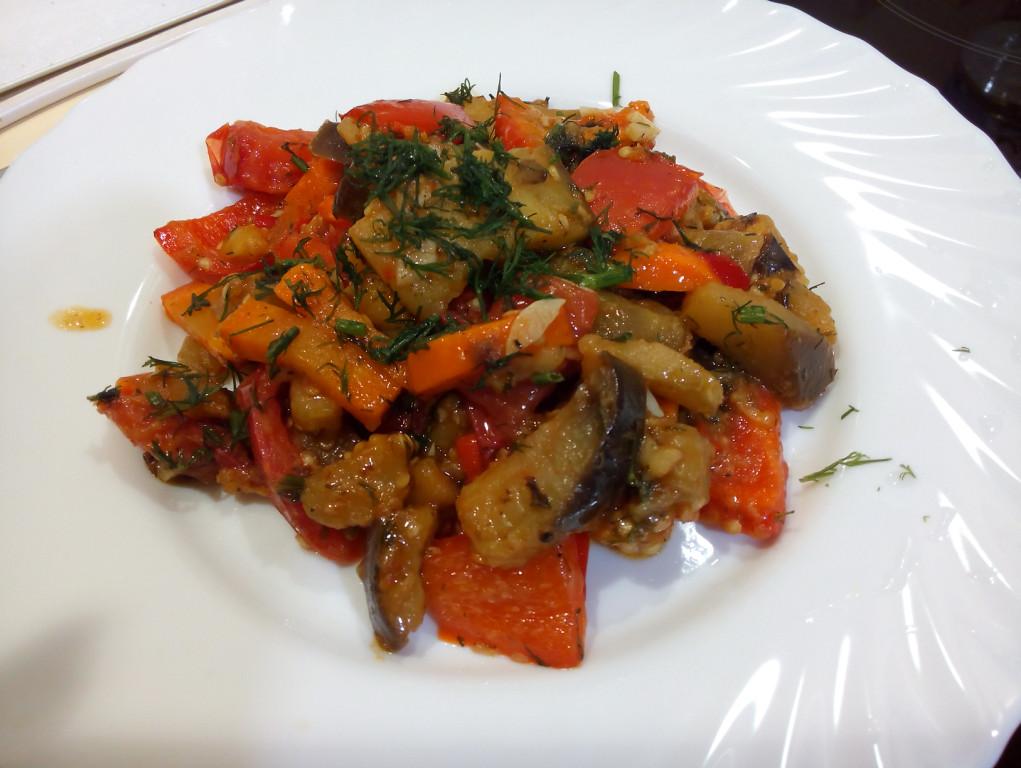Баклажаны рагу рецепты быстро и вкусно на сковороде