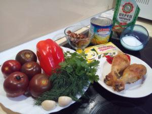 Помидоры на закуску быстрого приготовления черный принц