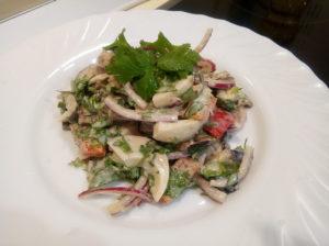 Салат из баклажанов вкуснотища на каждый день с овощами