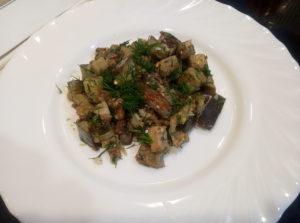 Баклажаны как грибы с укропом и чесноком