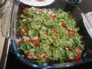 Диетические салаты с авокадо рецепты с салатными листьями