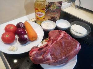 Вкусная говядина тушеная с овощами рецепт с фото