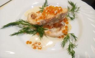 Форель в сливочном соусе