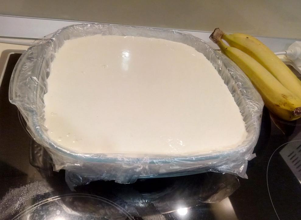 Банановый чизкейк рецепт с фото без выпечки