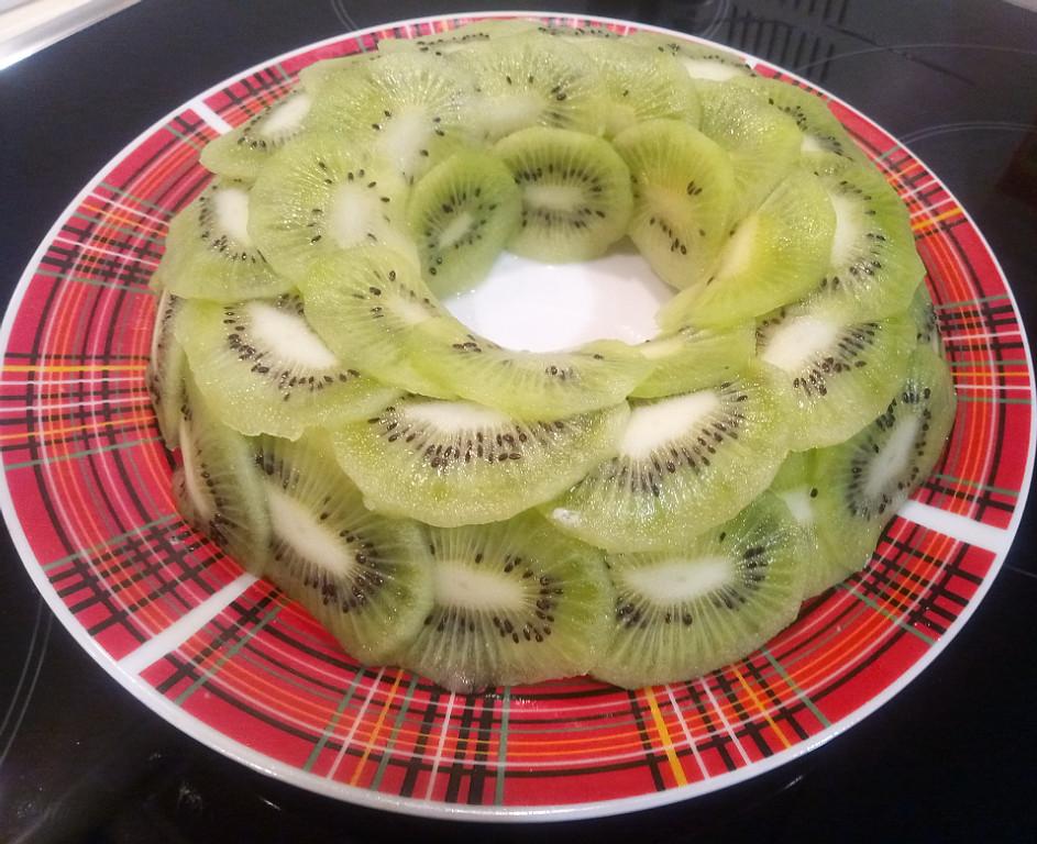 Салат малахитовый браслет рецепт с фото пошагово с киви