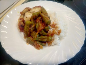 Бамия фото блюда
