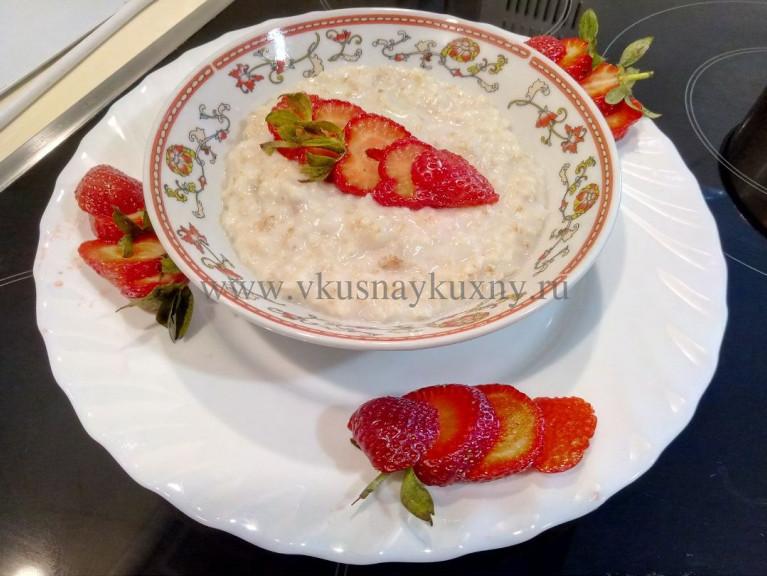 Рецепт вкусной овсянки с кокосовым молоком