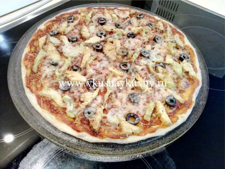 Пицца быстрого приготовления в микроволновке