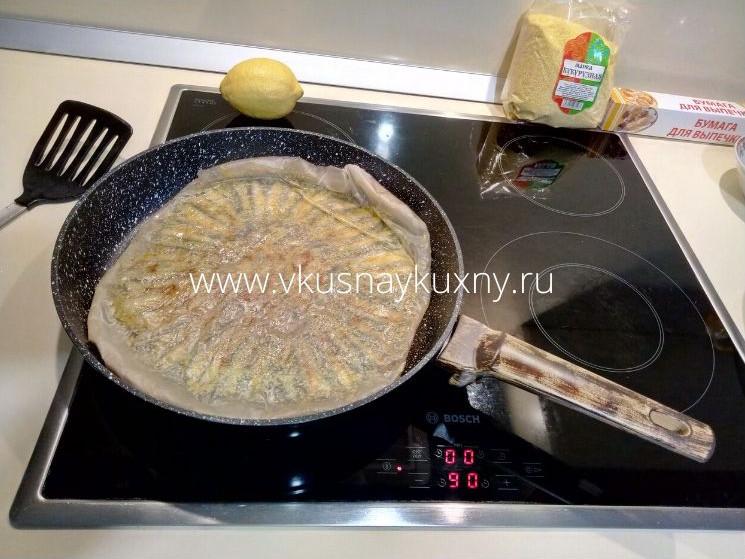 Hamsi tava tarifi рыба хамса в пергаменте на сковороде