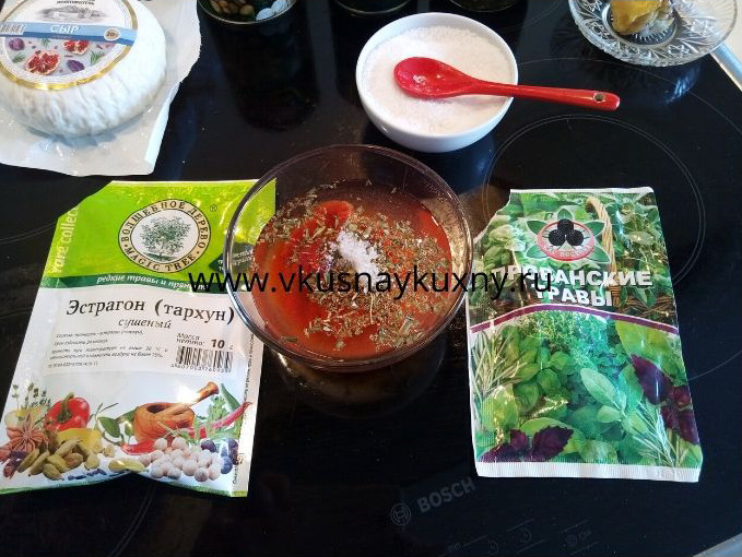 Готовим томатный соус для пиццы на сковороде