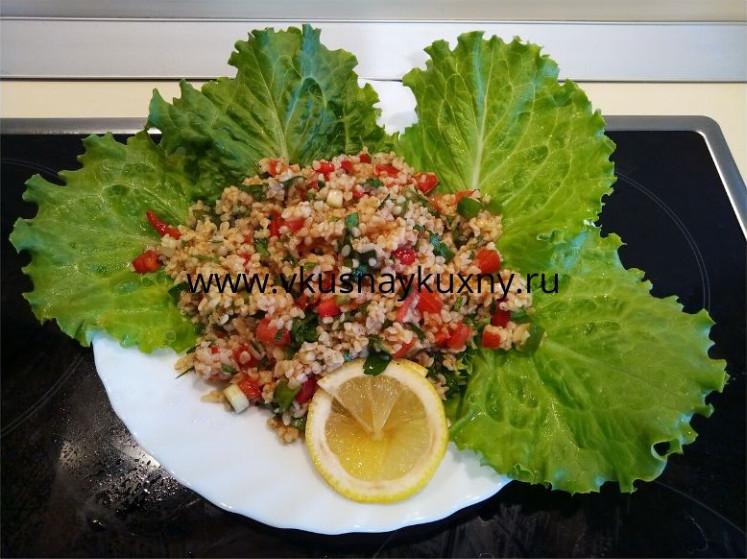 Кысыр турецкая кухня рецепт с булгуром