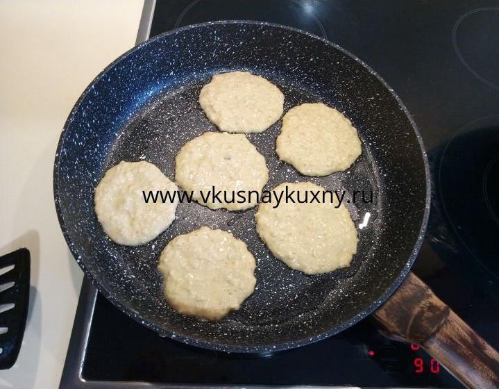 Овсяные оладьи рецепт диетические на сковороде на молоке