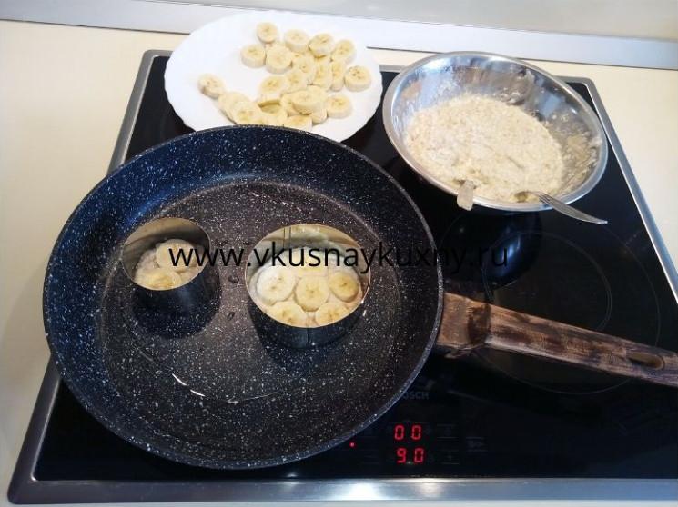 Сырники из творога с бананом рецепт с фото пошагово с овсяными хлопьями