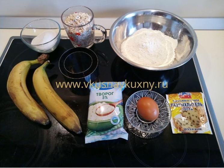Сырники творог банан яйцо на сковороде