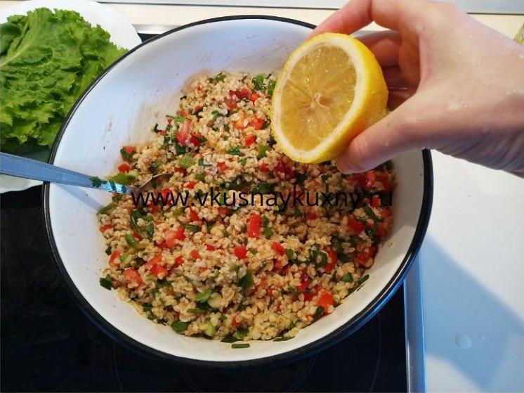 Турецкое блюдо кысыр рецепт с булгуром