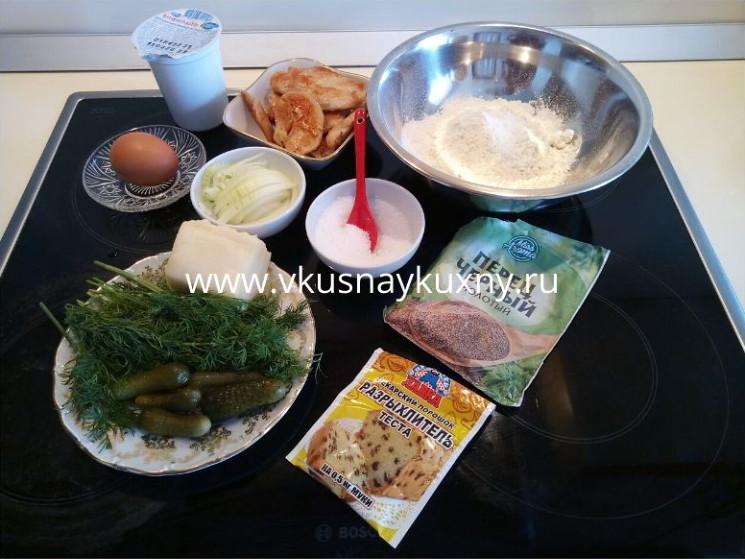 Ингредиенты на оладьи из курицы рецепт на кефире