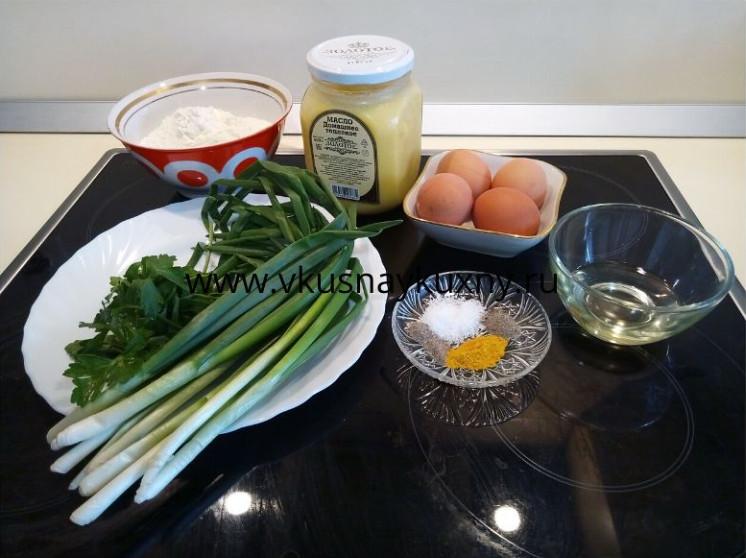 Как готовить пирожки с луком и яйцом ингредиенты