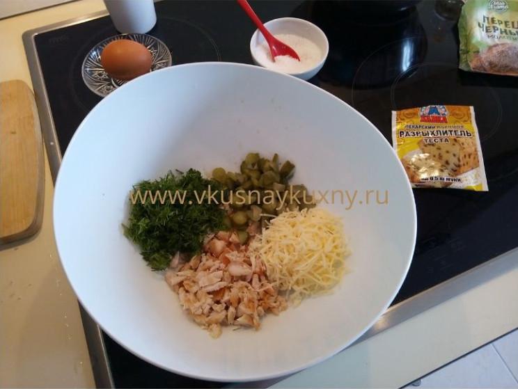 Как приготовить оладьи из куриного филе на кефире