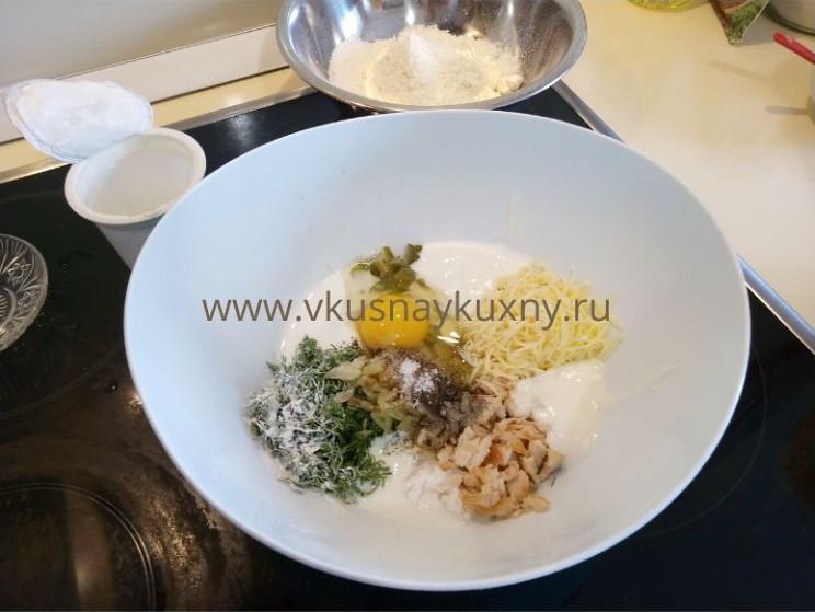 Оладьи на стакан кефира рецепт с сыром