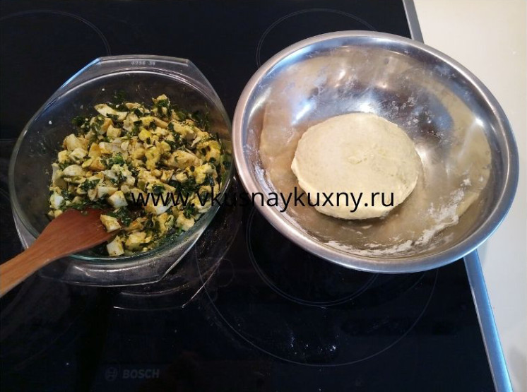 Пирожки с луком и яйцом начинка как делать с топлёным маслом