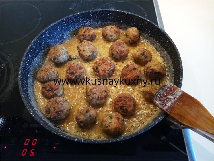 Тефтели из курицы рецепт с кус кусом