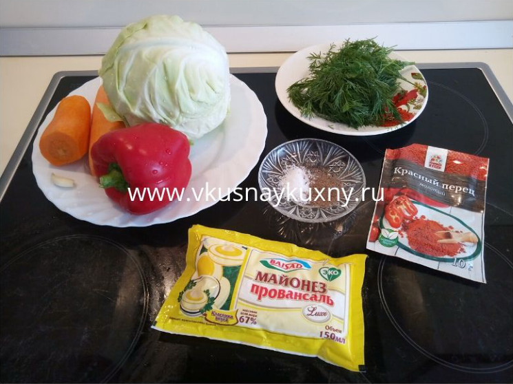 Как приготовить салат со свежей капустой и морковью