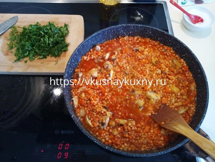 Красная чечевица рецепты приготовления с фото на сковороде