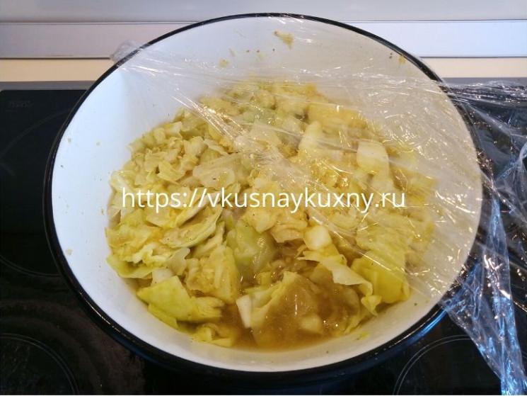 Капуста маринованная быстрого приготовления рецепт вкусная с уксусом и маслом и куркумой