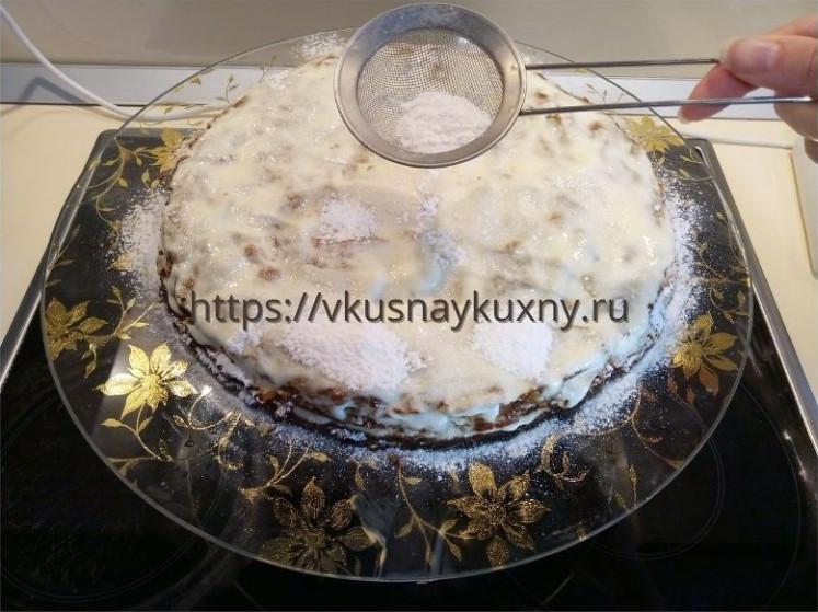 Медовик рецепт классический со сметаной пошаговый с фото