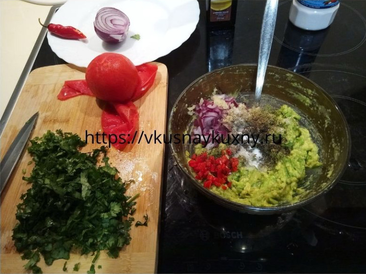 Гуакамоле мексиканский рецепт классический пошаговый