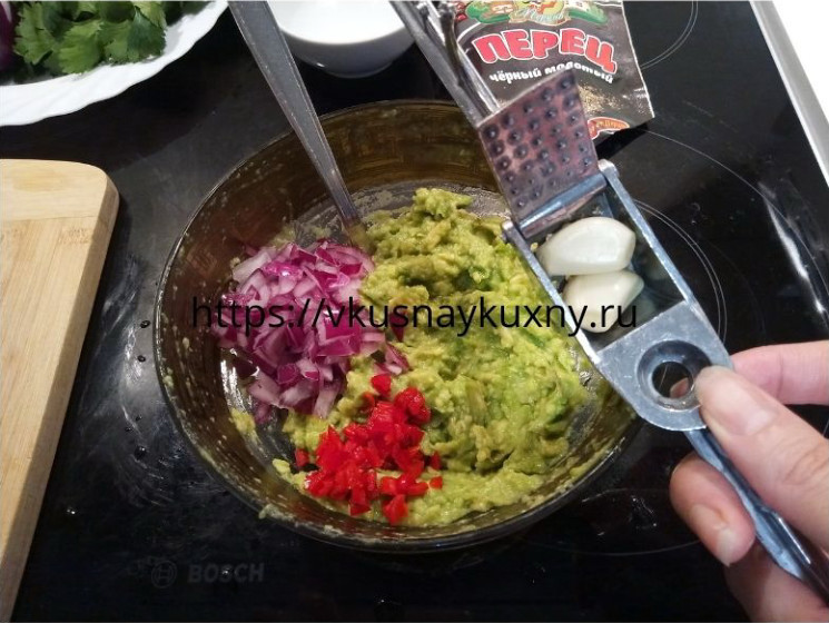 Гуакамоле рецепт с фото пошаговым