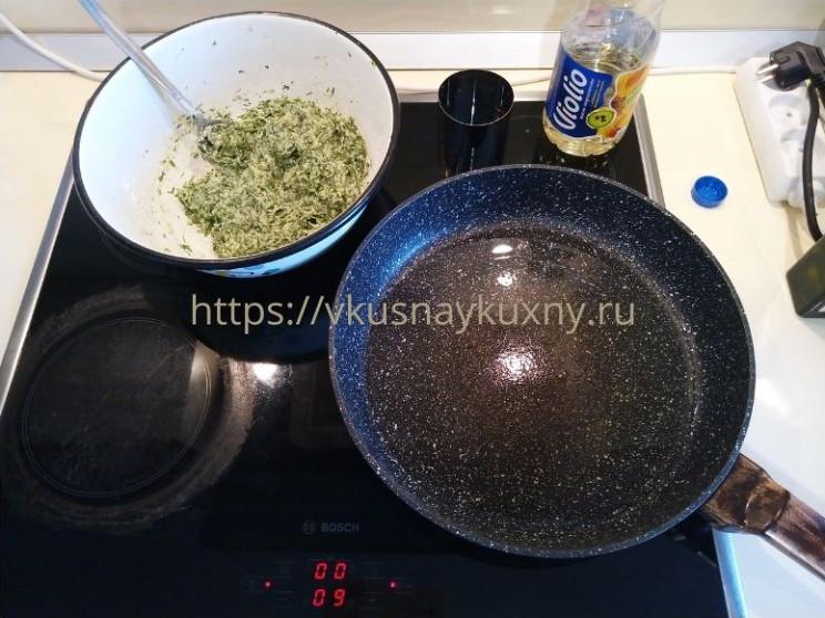 Оладьи из цукини на сковороде рецепт пошаговый