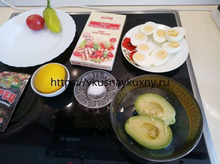 Закуска из авокадо рецепты с чесноком и лимоном