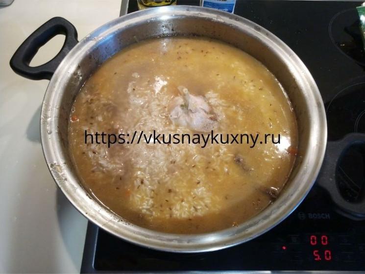Как приготовить узбекский плов на сковороде