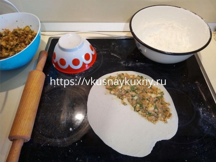 Гезлеме с картошкой рецепт с фото пошаговым