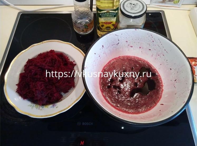 Маринованная свекла по корейски рецепт пошаговый
