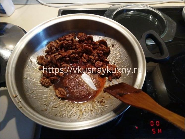 Ореховая халва в домашних условиях на сковороде ВОК