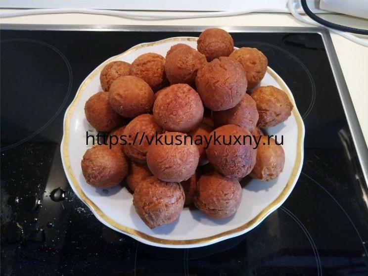 Творожные шарики рецепт классический пошаговый