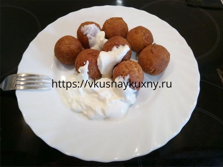 Творожные шарики во фритюре рецепт с фото пошаговый