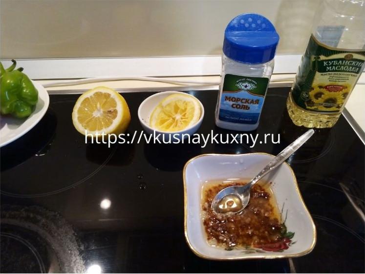 Чесночный соус для цыпленка табака с лимонным соком