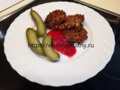 Еврейские котлеты из куриного филе