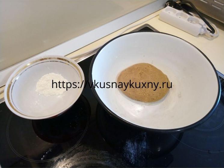 Готовое тесто для имбирного печенья с глазурью